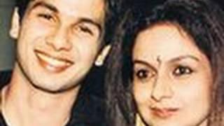 Shahid Kapoor Patches Up With Mom Neelima Azmi!