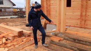 Строительство деревянного дома по технологии двойной стены.  От начала до конца