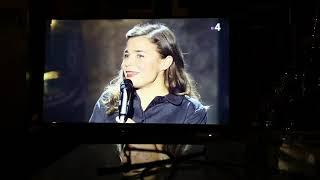 Blanche Gardin # Humoriste, # Un Talent # Une Artiste #Une Femme#Peinture #huile