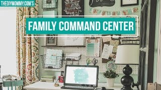 ULTIMATE FAMILY COMMAND CENTER 😍 Home Organization