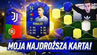 NIEBIESKI CRISTIANO RONALDO 94! 3 KARTY TOTYn W SKŁADZIE!   FIFA 20