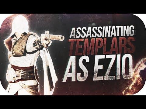 ASSASSINATING TEMPLARS AS EZIO! | Assassin's Creed: Unity Gameplay 'Funtage'