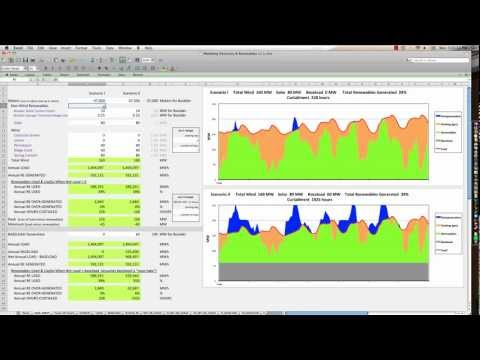 Modeling Electric Load & Renewables - Training for Free Spreadsheet
