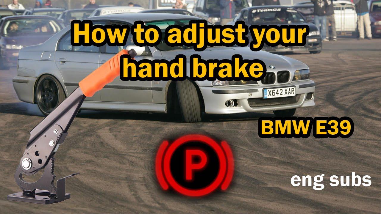 Service Manual How To Adjust Handbrake On A 2012 Bmw M3 Handbrake Adjustment At Rear Wheels