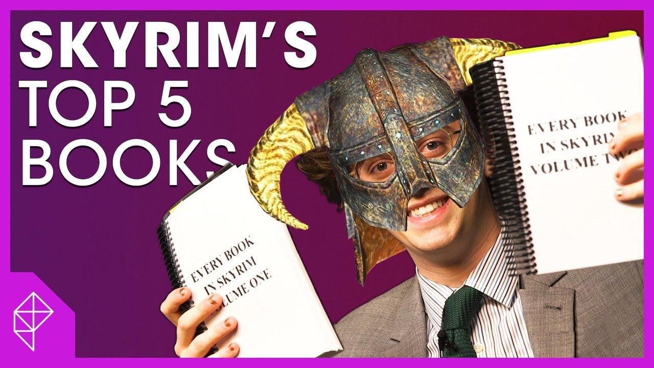 Журналист прочел все книги из Skyrim и умоляет игроков не повторять его ошибок — видео