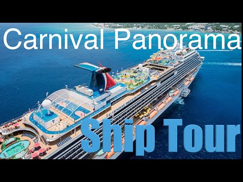 Carnival Panorama | Full Cruise Ship Tour | New Ship ~ Carnival Cruise Lines