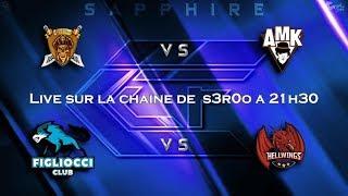 🔴League Sapphire FULL HDV12    Quarts de final   Clash Of Clans