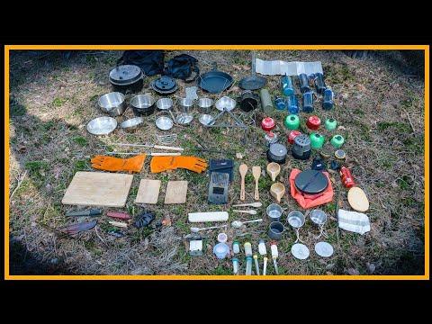 Kochausrüstung vorgestellt - Outdoor Kochen - Outdoor Bushcraft Survival Deutschland