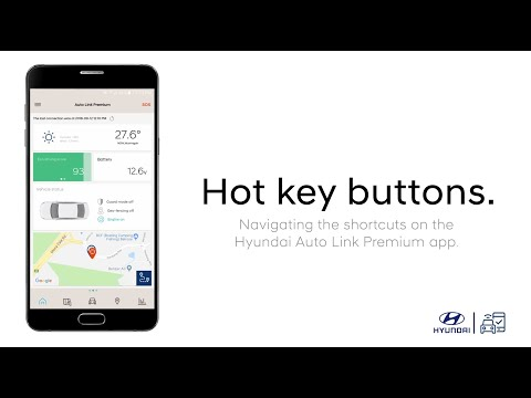 Hyundai Auto Link Premium - Hot Keys - YouTube