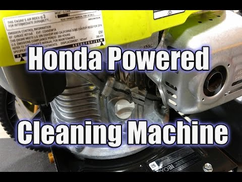 RYOBI 3100 PSI Honda Powered Pressure Washer Review - RY80940B