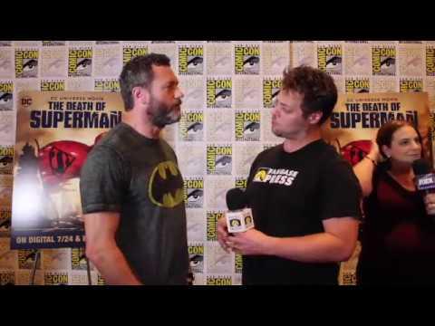 SDCC 2018: Jason O'Mara on Batman and THE DEATH OF SUPERMAN