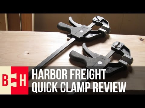 Harbor Freight Quick Clamp Review