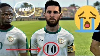 Senegal VS Brazil   And if Messi played for Senegal and replaced Sadio Mané