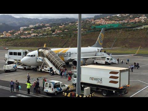 [PART 1] Primera air 738 Full Flight Malmo - Madeira Funchal PRW633 (COCKPIT TOUR) AMAZING LANDING