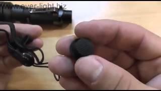 Видеообзор и включение тактического фонаря Fenix TK22
