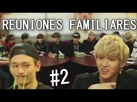 EXO Y SUS REUNIONES FAMILIARES #2