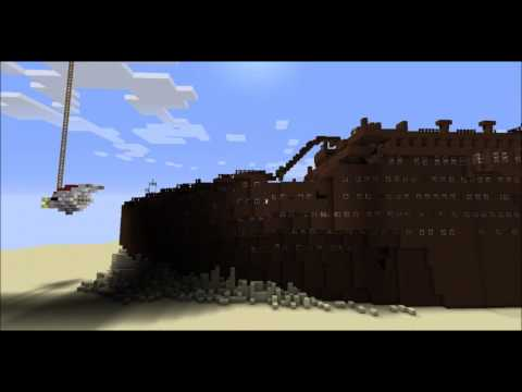 Minecraft SP 2: Titanic Wreck Map (Download in Description)