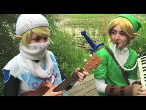 Legend of Zelda - Link and Sheik Bloopers...