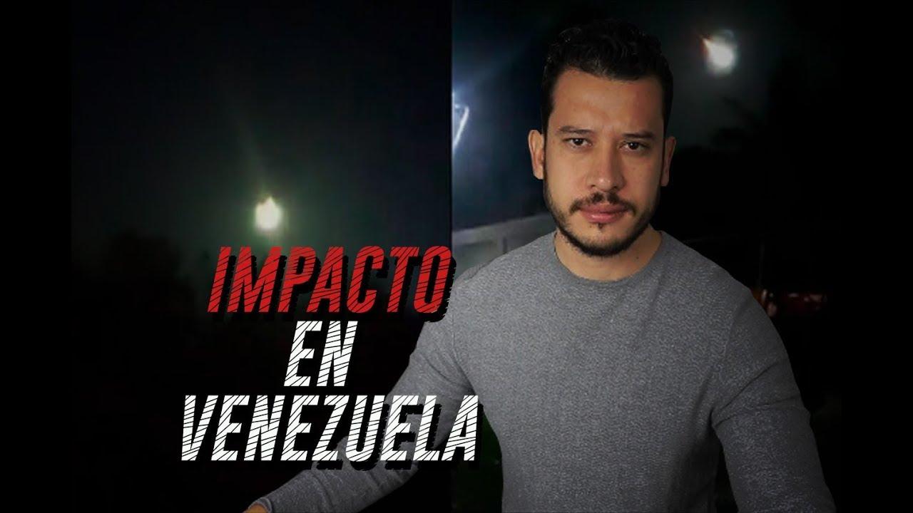 METEORO CAE EN VENEZUELA