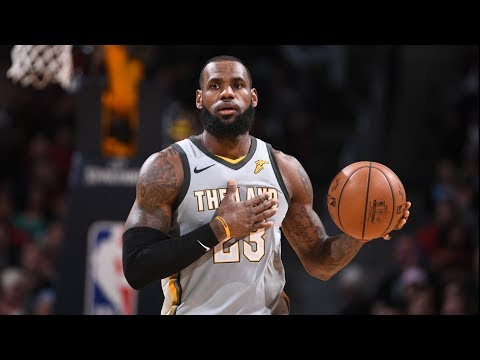 LeBron Takes Over in Clutch 39 Points Near Triple Double! 2017-18 Season