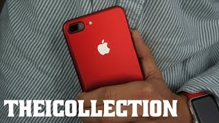 J'ai l'iPhone 7 en rouge !