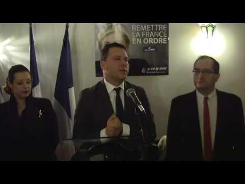 Jean-Lin Lacapelle : «Marine Le Pen sera élue Présidente de la République.»