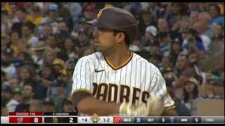 Daniel Camarena Grandslam For the Padres