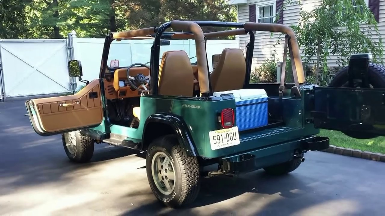 1994 jeep wrangler restored youtube 1994 jeep wrangler restored sciox Image collections