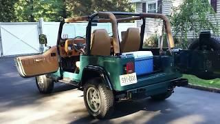 1994 jeep wrangler  restored
