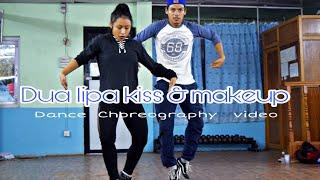 Dua lipa - kiss & makeup ft. BlackPink | Niranjan & Yumi | Dance Choreography Video