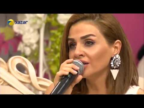 Azeri kizi Gunel, Tunar - Canli performans