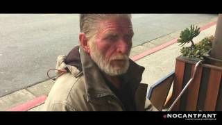 69 yrs Old Homeless Man lives off his Artwork!