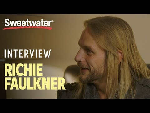 Richie Faulkner of Judas Priest Interviewed by Sweetwater