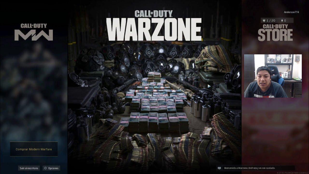 TUTORIAL de CALL of DUTY WARZONE | Anderson774