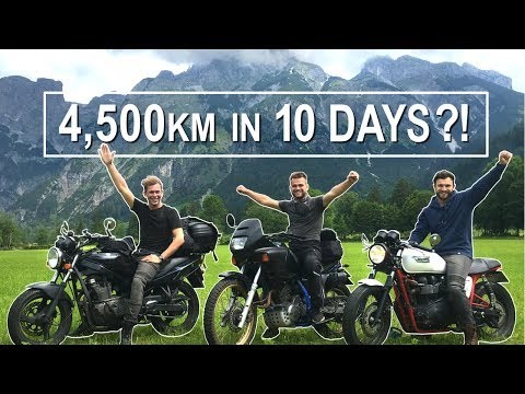 4500km Motorbike Trip To SWITZERLAND 🇨🇭