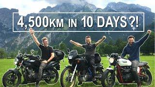 4500km Motorbike Trip To SWITZERLAND