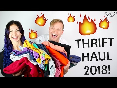 🔥 BEST Thrift Haul of 2018! VTG Tommy, Guess, Nautica   What Brands Resell on eBay! - RALLI ROOTS
