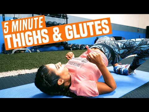 Your Next INNER THIGH & GLUTE Workout | 5 Minute Bodyweight Routine