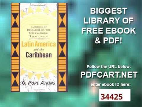 Handbook of Research on Latin American and Caribbean International Relations The Development of Conc