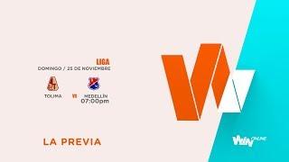 Tolima vs Medellín (La Previa - En vivo) | Liga Aguila 2018 II - Semifinal vuelta