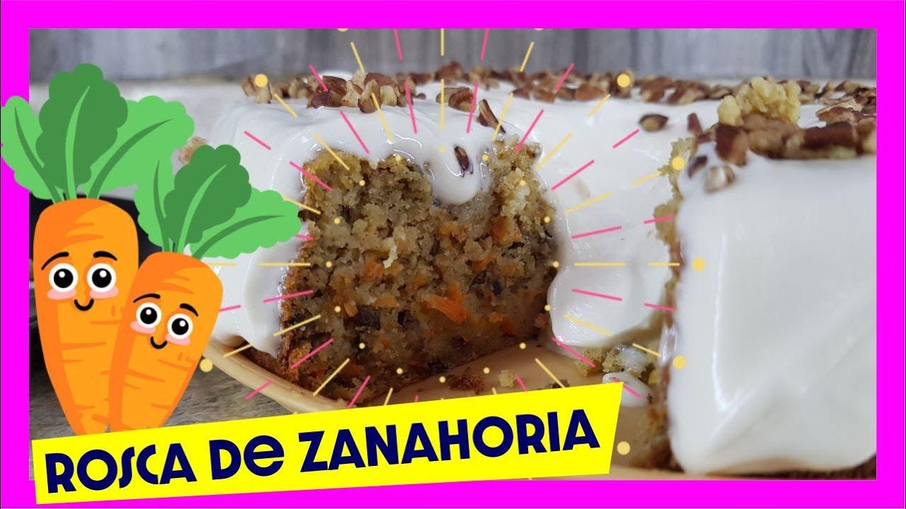 Pastel de Zanahoria // con harina para HOT CAKES
