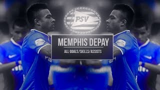 memphis depay   welcome to manchester united   all goals assists skills   psv   2014 2015   hd