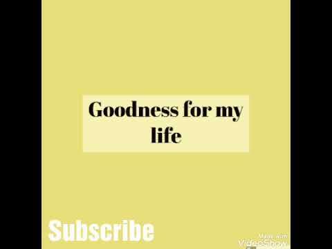 Goodness For my Life Freestyle by Blizz Boy