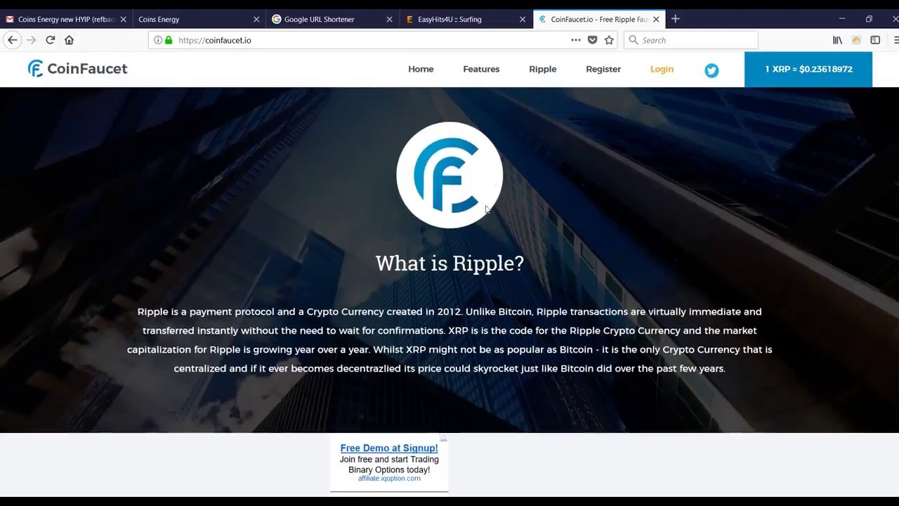 Where to Get and Store Ripple Crypto Currency / XRP Faucet - YouTube