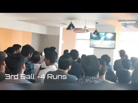 India Vs Newzealand Superover office reaction | Second Half