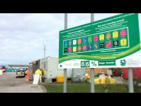 Denbighshire County Borough Council: Household Waste Recycling Centres
