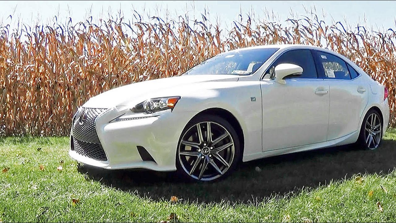 2016 Lexus Is300 F Sport Review