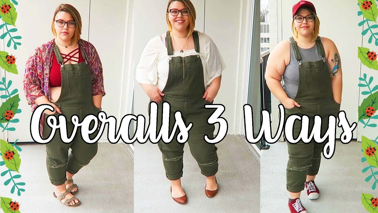 23cd36ca5b9 Styling Plus Size Overalls - YouTube