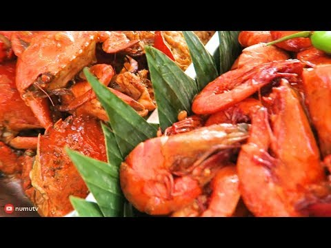Filipino Food - SHRIMPS and CRABS | Seafood in the Philippines