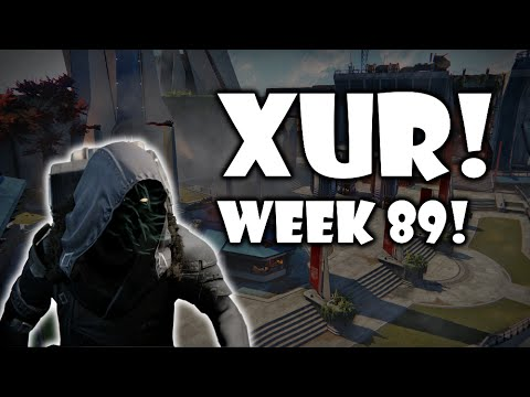 Destiny - Xur Location, Weapons, and Armor! - Week 89! - Week 36 of Year 2!